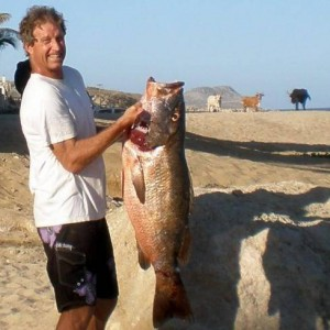 Local Mexican, Steve Dye Spearfisherman extrordinare