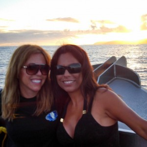 Michele and Regina