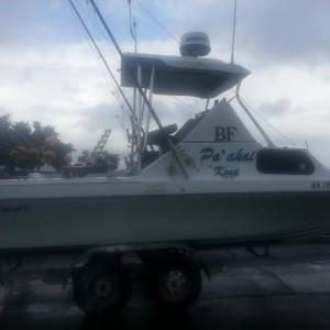 Kona boat