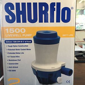 SHURflo 1500 Livewell Pump