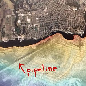 Santa Cruz Underwater Pipeline