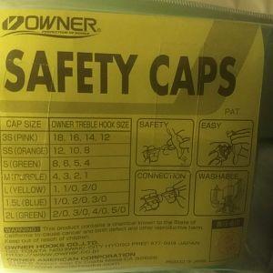 Safety Cap Sizes